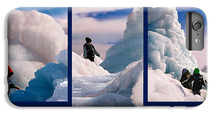 Landscape IPhone 6 Plus Case featuring the photograph The Explorers by Steve Karol