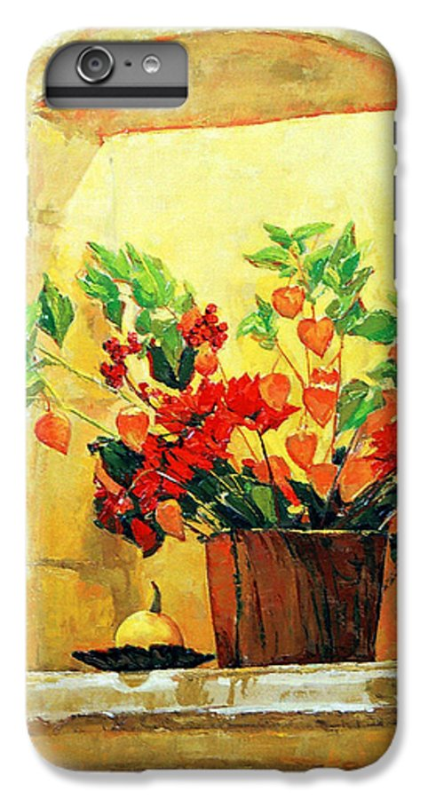 Still Life IPhone 6 Plus Case featuring the painting The Light by Iliyan Bozhanov