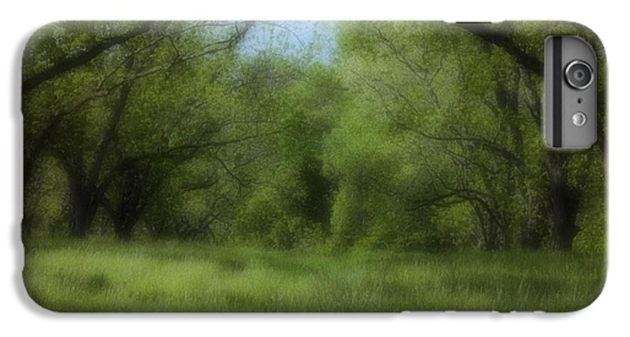 Landscape IPhone 6 Plus Case featuring the photograph The Meadow by Ayesha Lakes