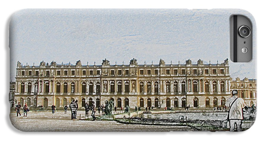 Palace IPhone 6 Plus Case featuring the photograph The Palace Of Versailles by Amanda Barcon