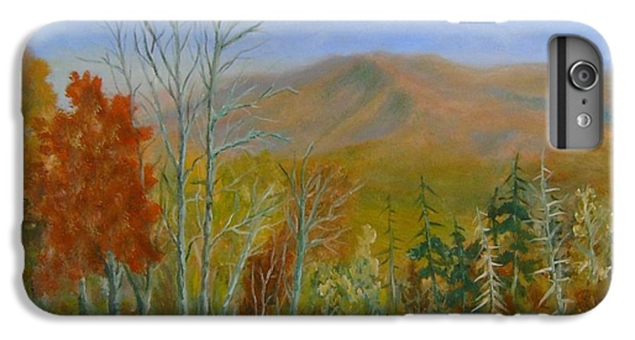 Mountains; Trees; Fall Colors IPhone 6 Plus Case featuring the painting The Parkway View by Ben Kiger