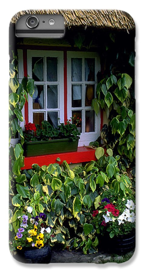 Ivy IPhone 6 Plus Case featuring the photograph The Perfect Cottage by Carl Purcell