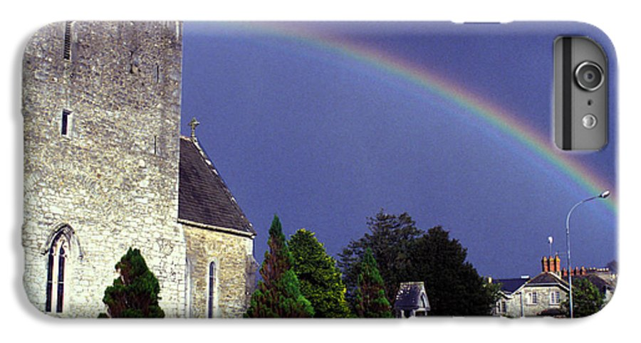 Rain IPhone 6 Plus Case featuring the photograph The Perfect Rainbow by Carl Purcell