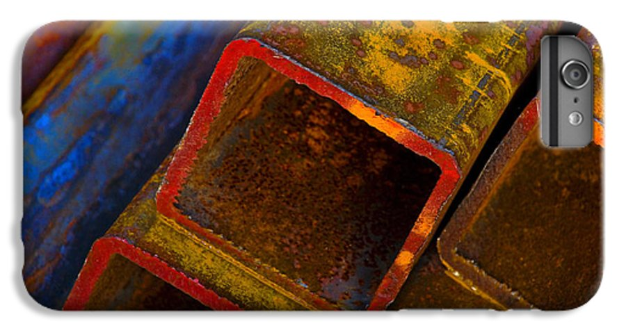Abstract IPhone 6 Plus Case featuring the photograph The River by Skip Hunt
