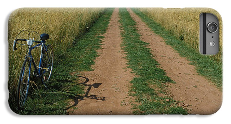 Dirt IPhone 6 Plus Case featuring the photograph The Road To Home by Carl Purcell