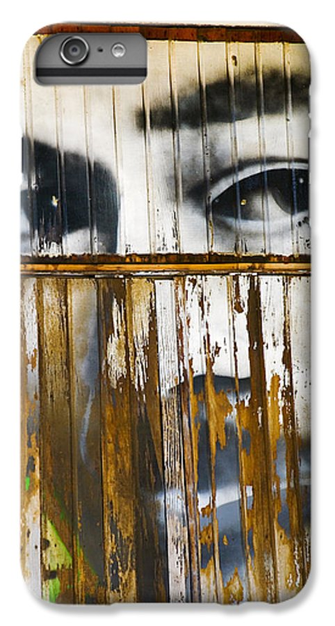 Escondido IPhone 6 Plus Case featuring the photograph The Walls Have Eyes by Skip Hunt