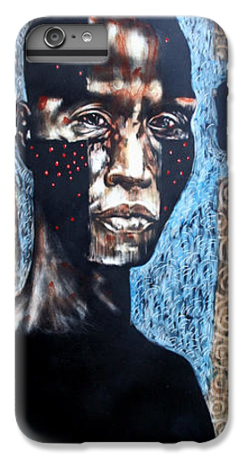 Religion IPhone 6 Plus Case featuring the mixed media The Zelot by Chester Elmore