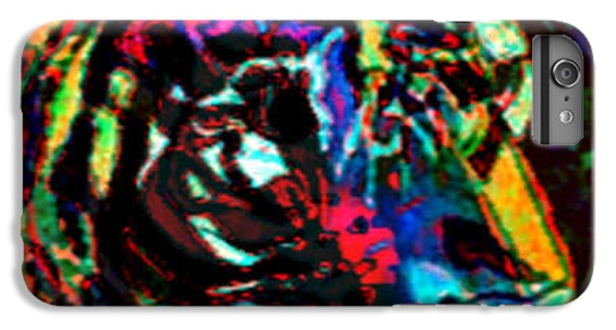 Wildlife IPhone 6 Plus Case featuring the digital art Tiger Se by Brenda L Spencer