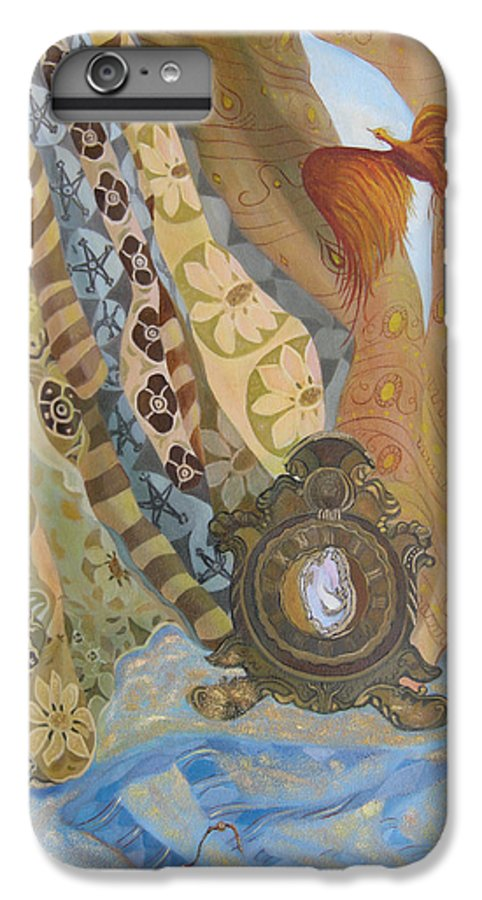Still Life IPhone 6 Plus Case featuring the painting Time by Antoaneta Melnikova- Hillman
