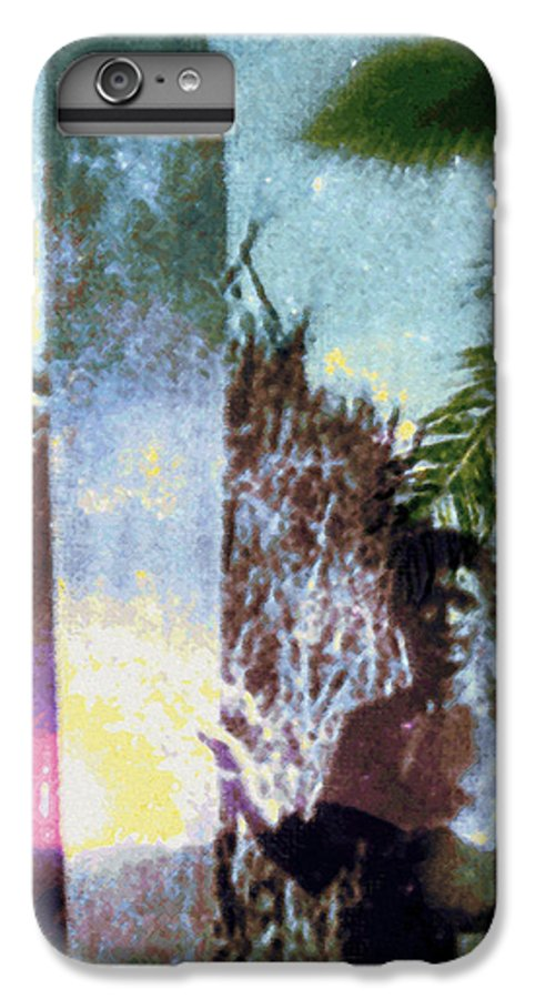Tropical Interior Design IPhone 6 Plus Case featuring the photograph Time Surfer by Kenneth Grzesik