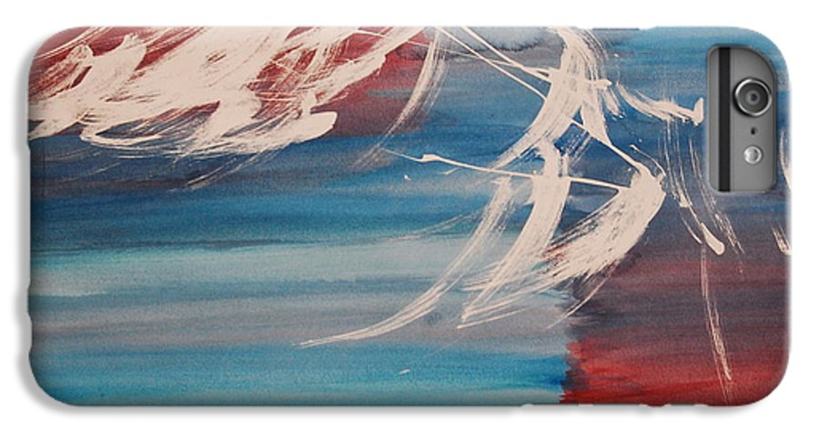 Tranquility IPhone 6 Plus Case featuring the painting Tranquilidad 2 by Lauren Luna