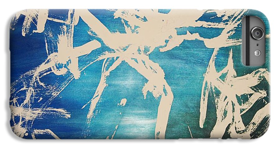 Water IPhone 6 Plus Case featuring the painting Tranquilidad by Lauren Luna