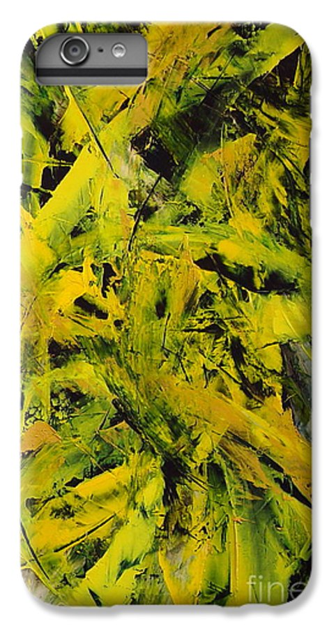 Abstract IPhone 6 Plus Case featuring the painting Transitions Vi by Dean Triolo