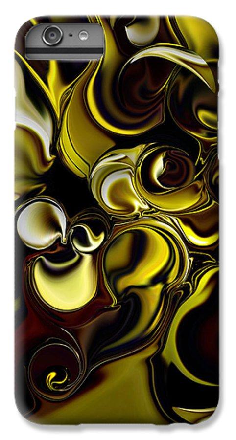 Transparent Dimension IPhone 6 Plus Case featuring the digital art Transparent Dimension by Carmen Fine Art