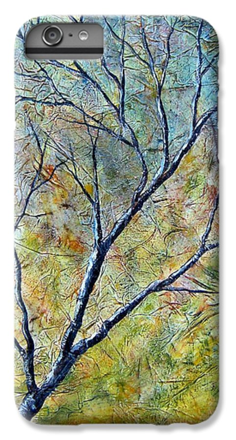 IPhone 6 Plus Case featuring the painting Tree Number One by Tami Booher