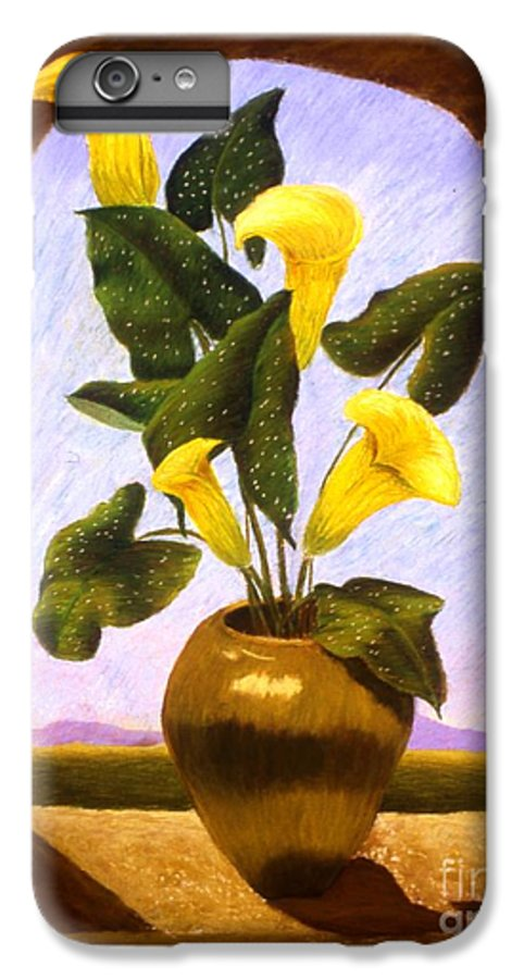 Still Life IPhone 6 Plus Case featuring the painting Tribute To The Dutch Masters by Mary Erbert