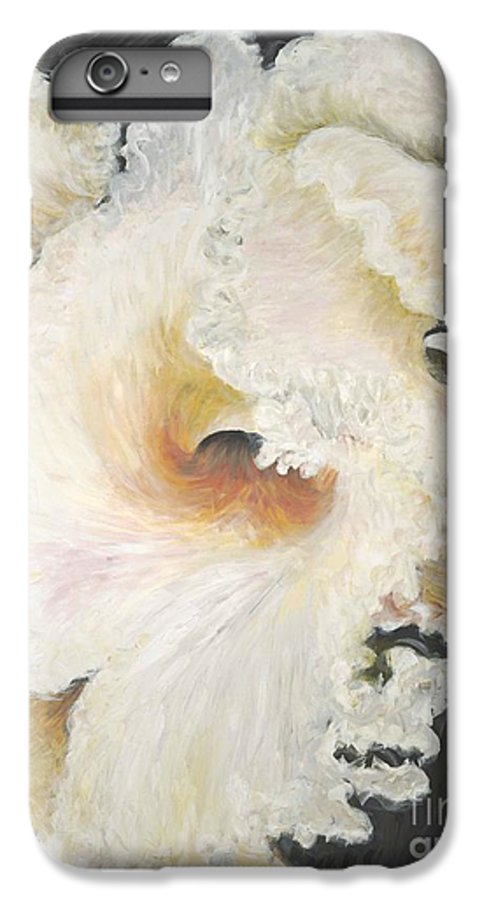 Flower IPhone 6 Plus Case featuring the painting Tropical Flowers by Nadine Rippelmeyer