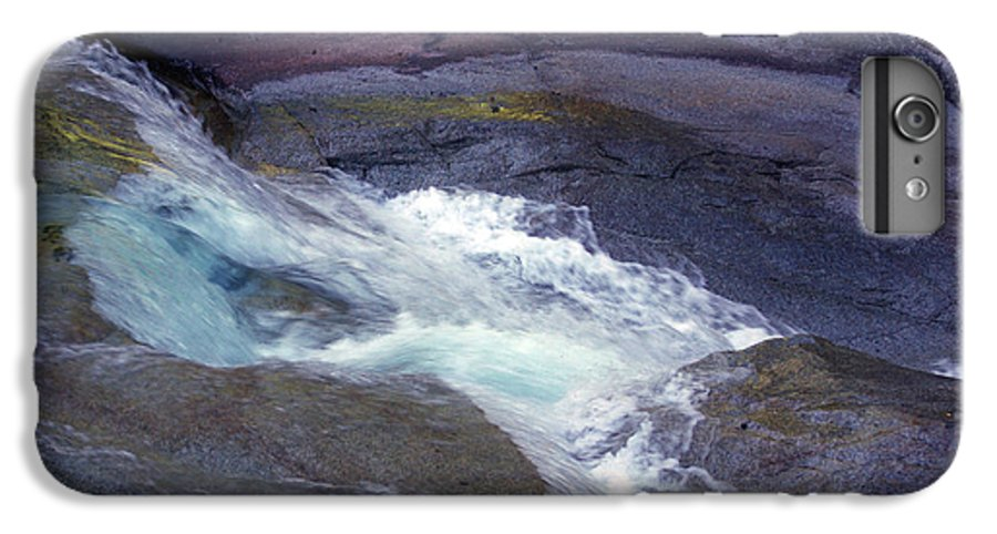Flowing IPhone 6 Plus Case featuring the photograph Tropical Water Bird Josephine Falls by Kerryn Madsen- Pietsch