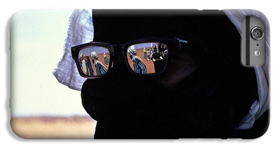 Reflection IPhone 6 Plus Case featuring the photograph Tuareg With Sunglasses by Carl Purcell