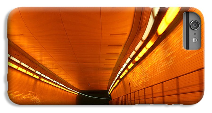 Tunnel IPhone 6 Plus Case featuring the photograph Tunnel by Linda Sannuti