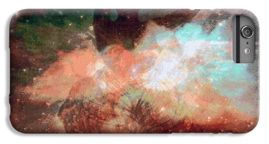 Tropical Interior Design IPhone 6 Plus Case featuring the photograph Uhane Hula by Kenneth Grzesik