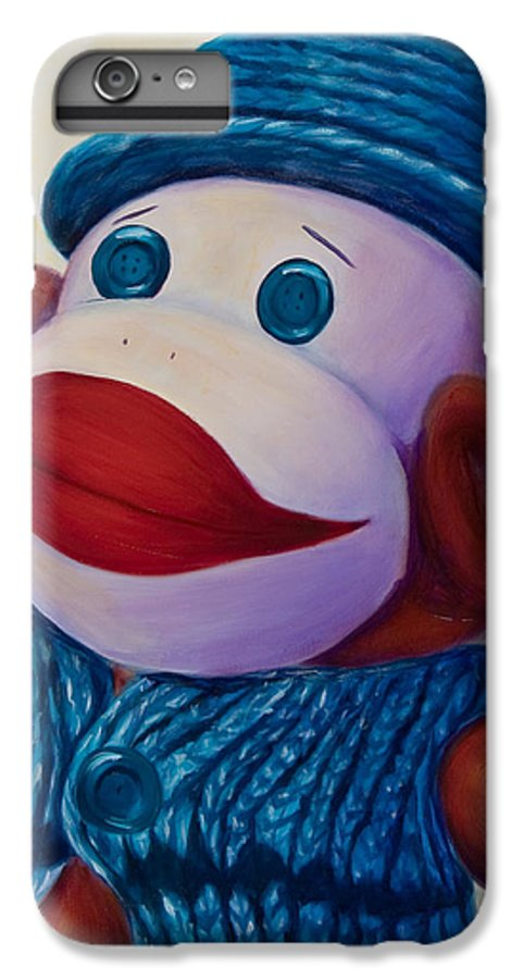 Children IPhone 6 Plus Case featuring the painting Uncle Frank by Shannon Grissom