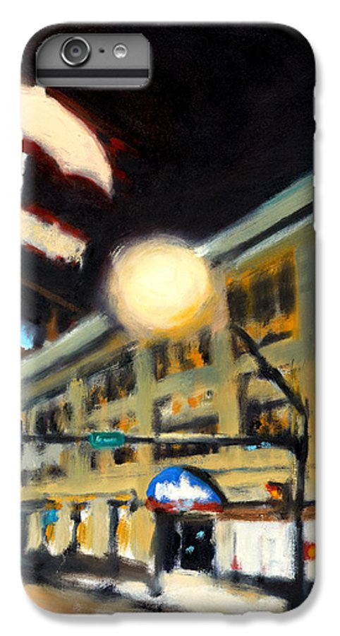 Rob Reeves IPhone 6 Plus Case featuring the painting Untitled by Robert Reeves