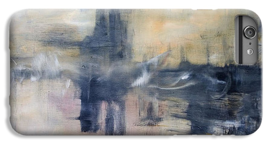 Cityscape IPhone 6 Plus Case featuring the painting Untitled by Shawnequa Linder