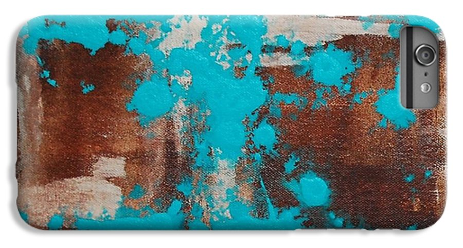 Diptech IPhone 6 Plus Case featuring the painting Urbanesque I by Lauren Luna
