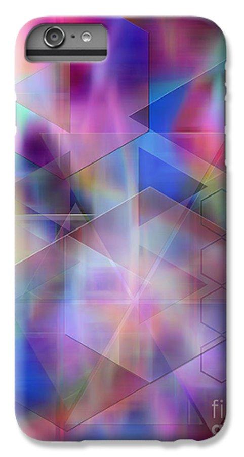 Usonian Dreams IPhone 6 Plus Case featuring the digital art Usonian Dreams by John Beck