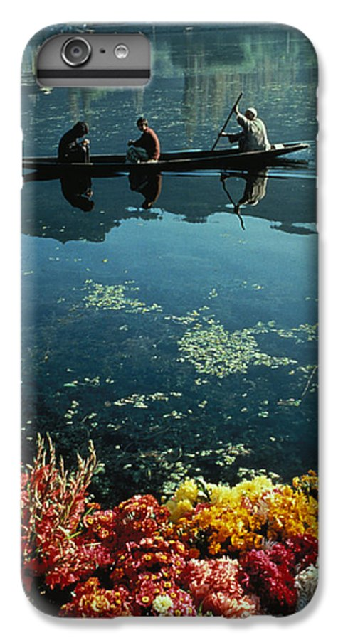 Boats IPhone 6 Plus Case featuring the photograph Vale Of Kashmir by Carl Purcell