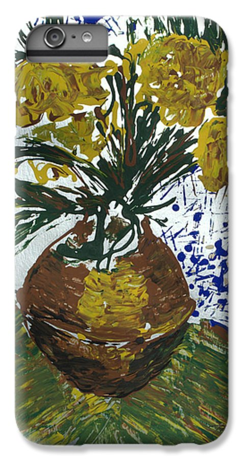 Flowers IPhone 6 Plus Case featuring the painting Van Gogh by J R Seymour