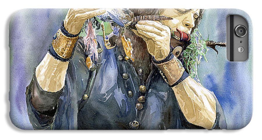 Watercolor IPhone 6 Plus Case featuring the painting Varius Coloribus by Yuriy Shevchuk
