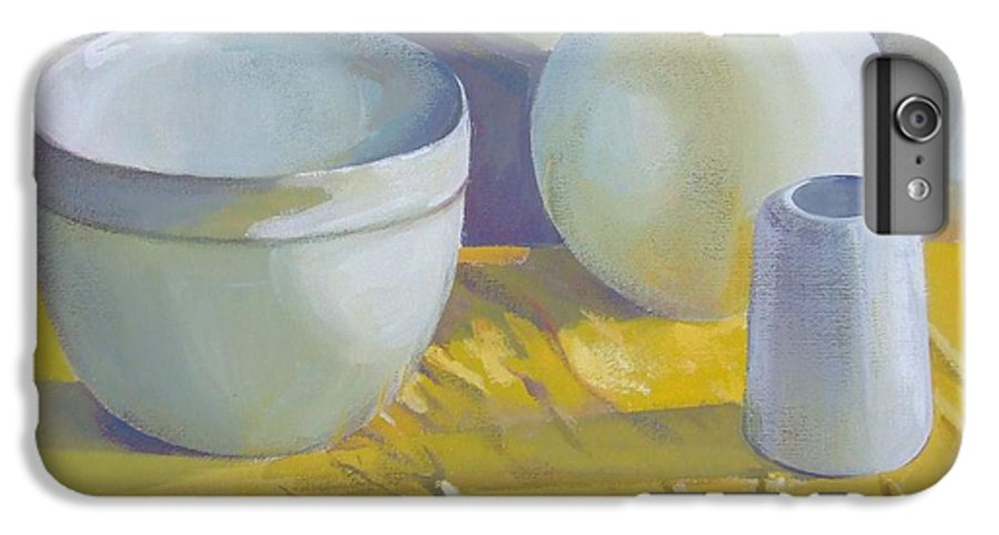 Still Life IPhone 6 Plus Case featuring the painting Vases by Elena Oleniuc