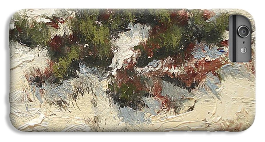 Water IPhone 6 Plus Case featuring the painting Ventura Dunes I by Barbara Andolsek