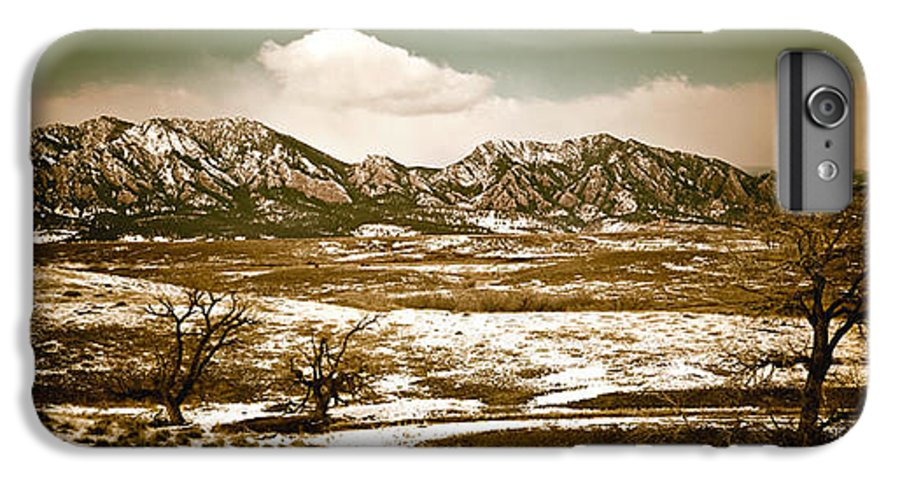 Landscape IPhone 6 Plus Case featuring the photograph Flatironsview From Superior by Marilyn Hunt
