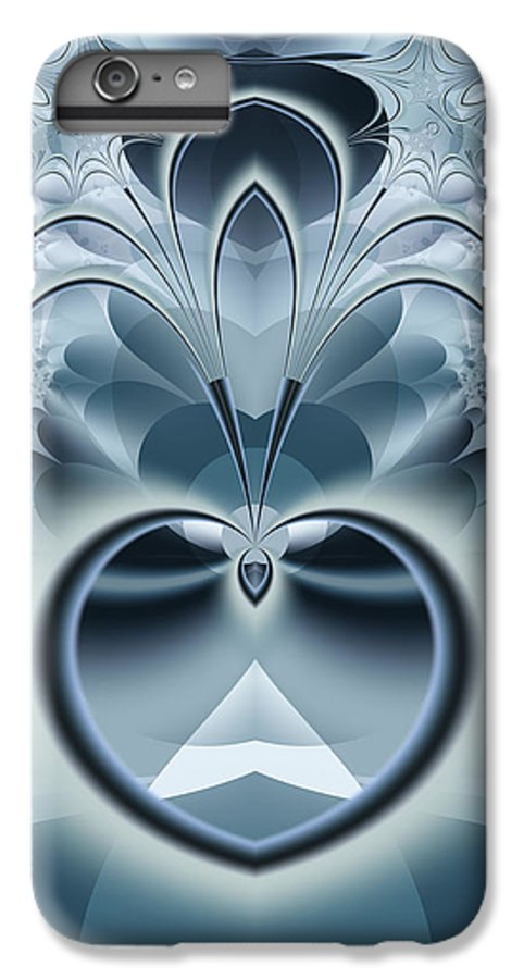 Fractal IPhone 6 Plus Case featuring the digital art Vision by Frederic Durville