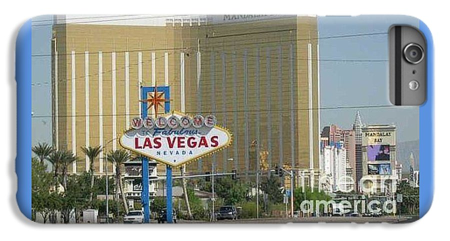 Vegas IPhone 6 Plus Case featuring the photograph Viva Las Vegas by Barb Montanye Meseroll
