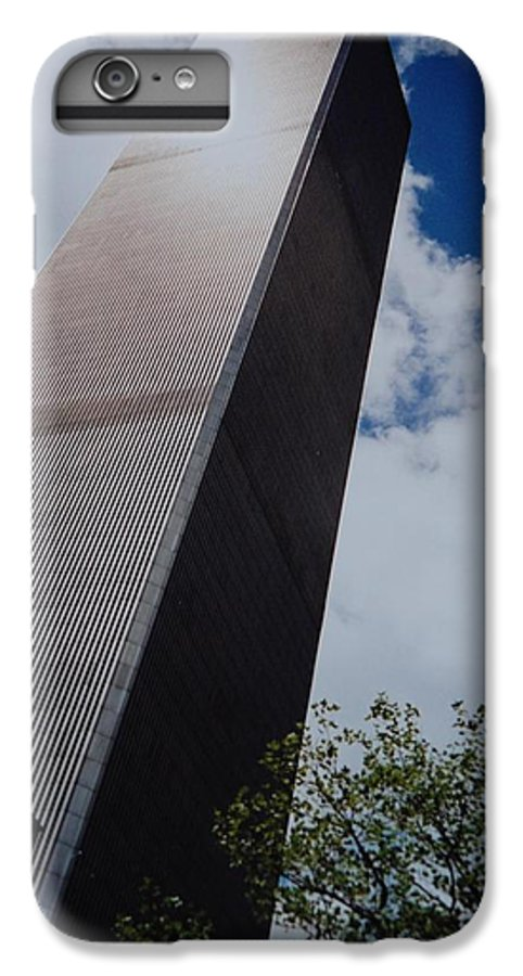 Wtc IPhone 6 Plus Case featuring the photograph W T C 1 And 2 by Rob Hans