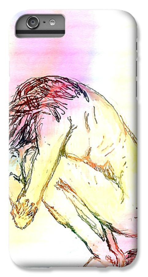 Lady IPhone 6 Plus Case featuring the digital art Waiting For The Wounds To Heal by Shelley Jones