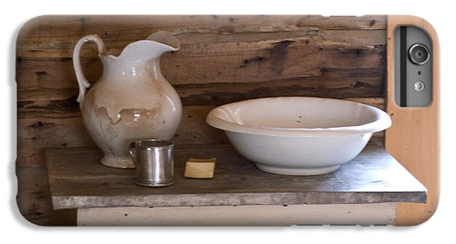 Wash IPhone 6 Plus Case featuring the photograph Wash Bowl Pitcher And Cup by Douglas Barnett