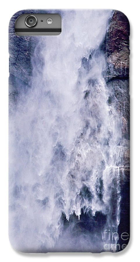Waterfall IPhone 6 Plus Case featuring the photograph Water Drops by Kathy McClure