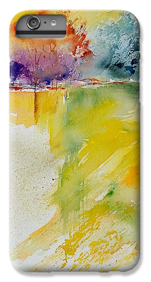 Pond IPhone 6 Plus Case featuring the painting Watercolor 800142 by Pol Ledent