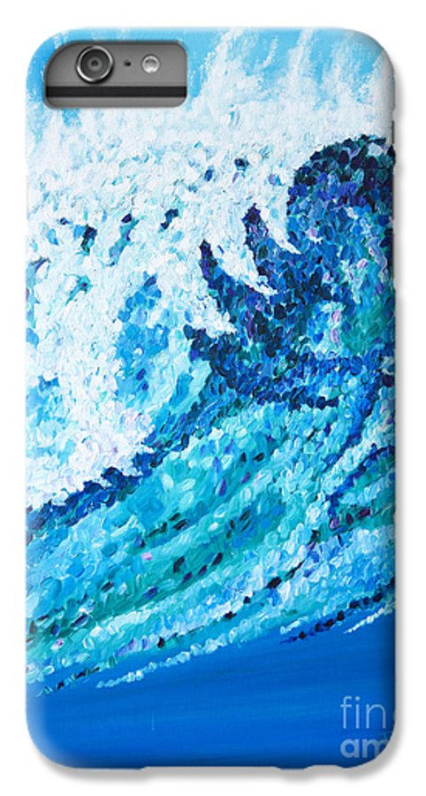 Ocean IPhone 6 Plus Case featuring the painting Watercolor by JoAnn DePolo
