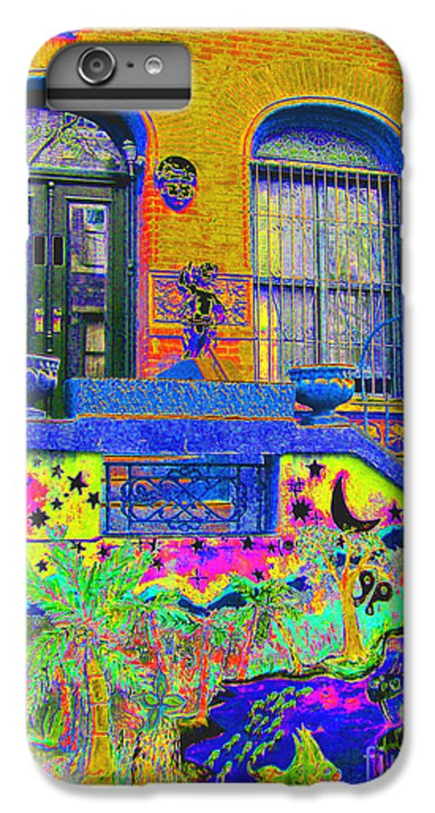 Harlem IPhone 6 Plus Case featuring the photograph Wax Museum Harlem Ny by Steven Huszar