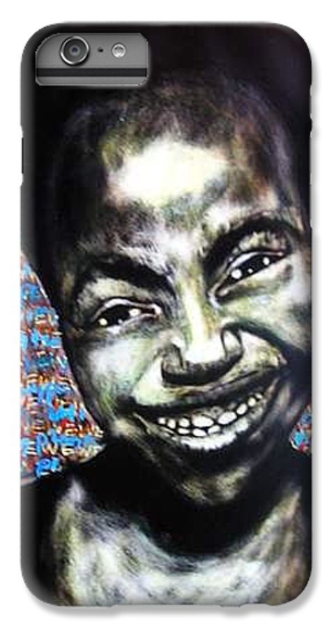 IPhone 6 Plus Case featuring the mixed media We Play by Chester Elmore