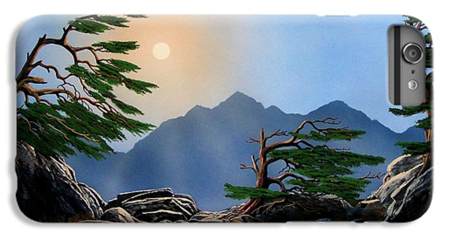 Weathered Warriors IPhone 6 Plus Case featuring the painting Weathered Warriors by Frank Wilson