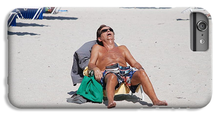 Beach IPhone 6 Plus Case featuring the photograph Weekend At Bernies by Rob Hans