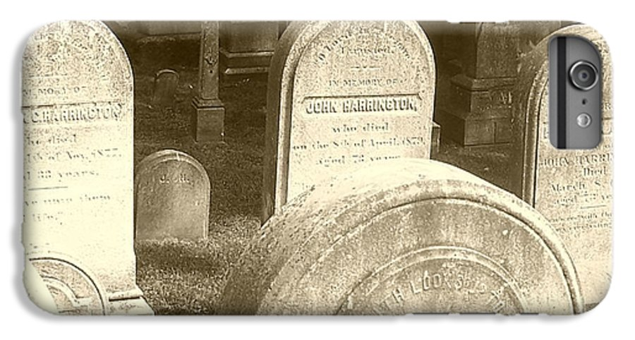 Cemetery IPhone 6 Plus Case featuring the photograph Welcome by Debbi Granruth