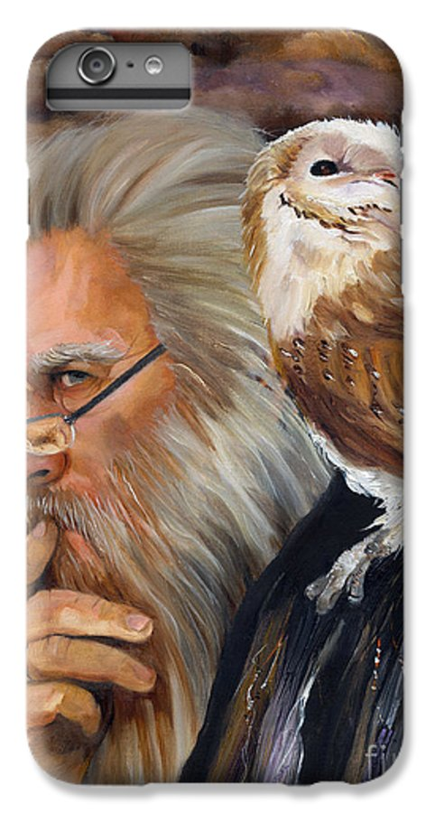 Wizard IPhone 6 Plus Case featuring the painting What If... by J W Baker